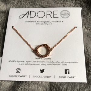 2 for $30$ Adore circle bracelet in Rose